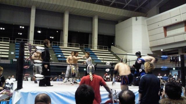 Wrestling in Nagano