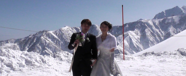 Wedding in Hakuba