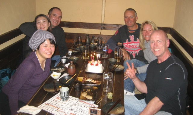 Birthday in Hakuba