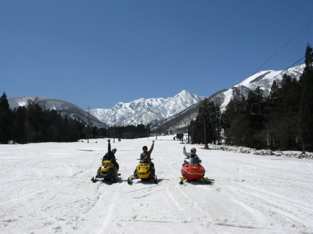 Hakuba snowmobile