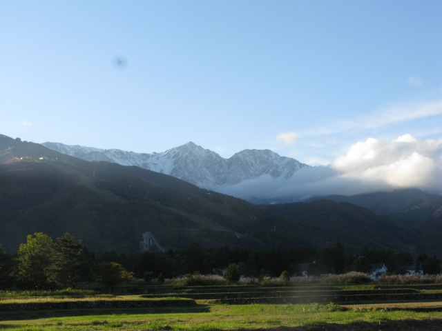 Hakuba first snow 2010