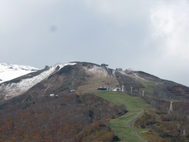 Hakuba early snow