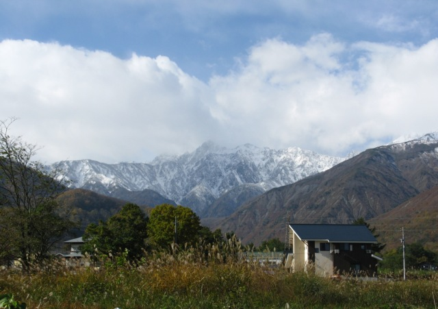 Hakuba November snow