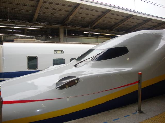 The bullet train - Tokyo to Nagano