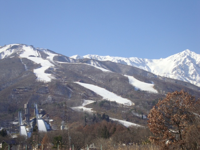 Beautiful day in Hakuba