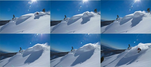 Sequence Shots on a Beautiful BlueBird Day