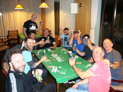 Friendly Poker at the White Horse Hotel