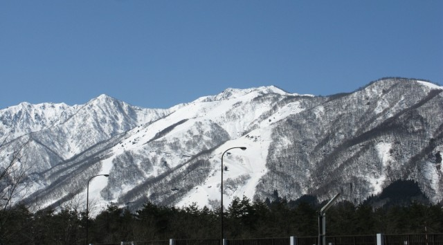Goryu ski runs in April