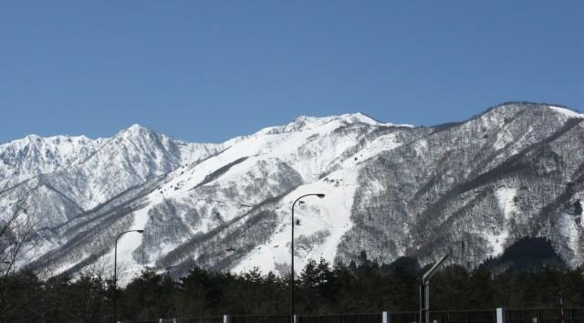 Goryu ski runs in April