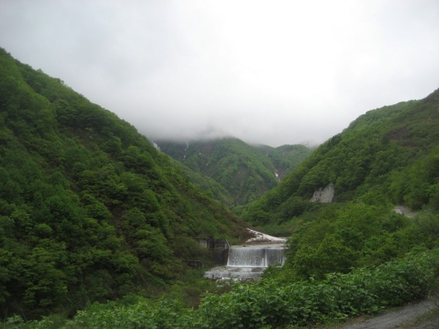 Hakuba in the summer