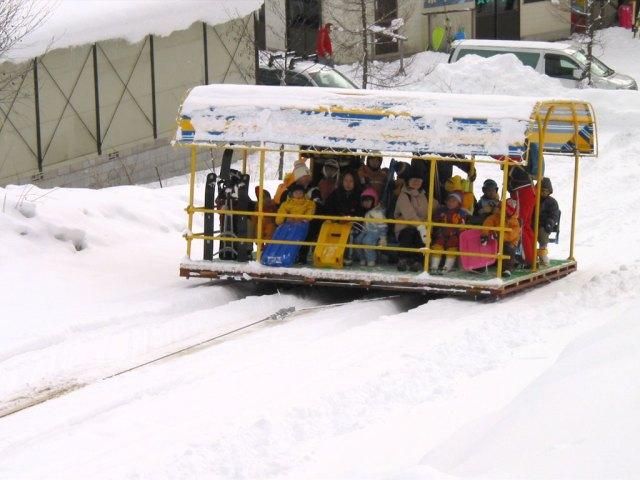 Jigatake ski resort, Nagano, Japan