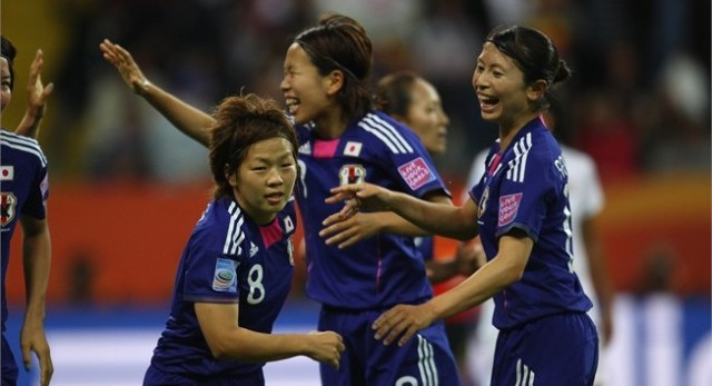 Japanese womans world cup win