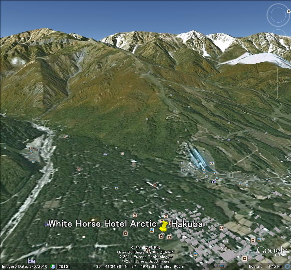 Google map of Hakuba | Hakuba Blog