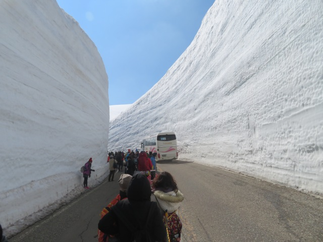 Hakuba snow walls