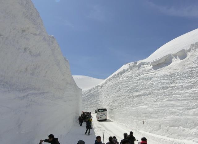 Snow walls 2017