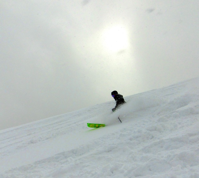Hakuba powder snow
